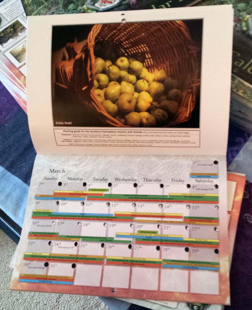 2014 Planting calendar website 2