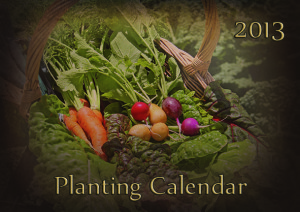 Planting Calendar 2013