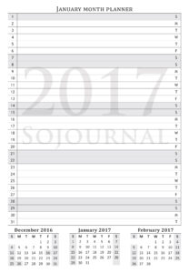 January-month-planner